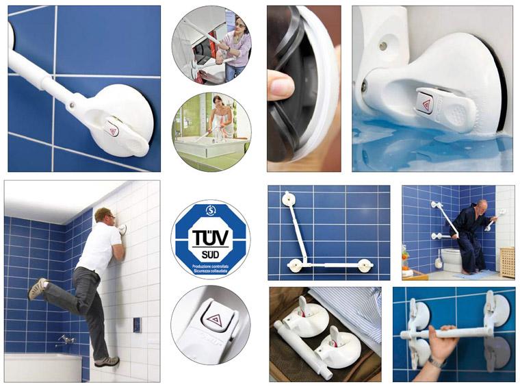 Accessori Per Disabili Bagno Prezzi.Maniglie A Ventosa Per Bagno Disabili Moving People Srl