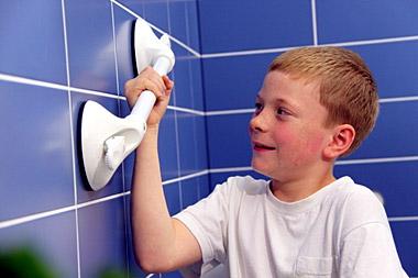 Maniglie a ventosa per bagno disabili moving people srl